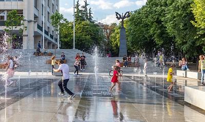Pedestrian zone Stara Zagora