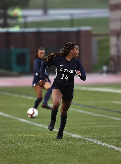 Kiana Sparrow - CT Soccer v Eaglecrest