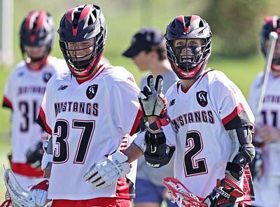 Lacrosse boys - Grandview @ Colorado Academy (varsity)