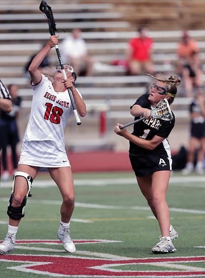 Lacrosse girls - Arapahoe @ Regis Jesuit (varsity)