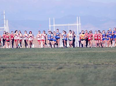 XC - Arapahoe County Fairgrounds (girls - varsity)