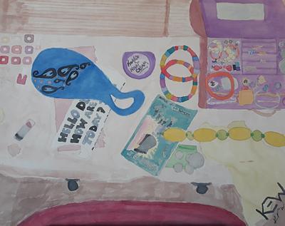Girl's Dresser - 1991