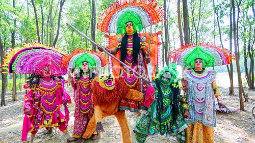 Manbhum Chhau Dance