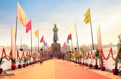 Swami Vivekananda Statue of Jharkhand