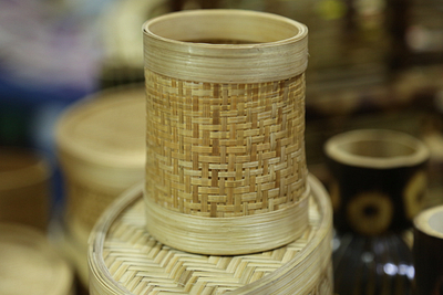 Bamboo Craft, Pen Holder