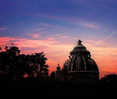 Beautiful view of Deori Mandir