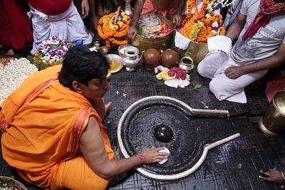 Shiv linga of babadham, Deoghar, Jharkhand