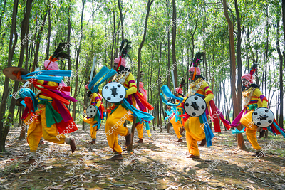 jharkhand paika dance also known as martial arts form of dance in action