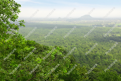 Beautiful view from canary hill hazaribagh, jharkhand, india
