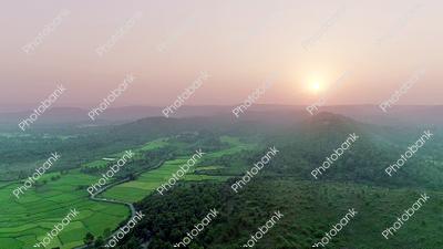 beautiful scenery of Jharkhand