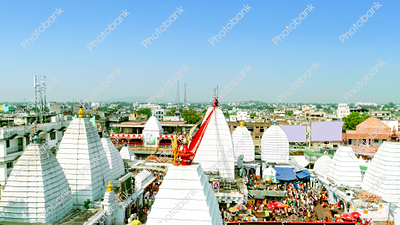 Baba Baidyanath Dham Temple aerial view