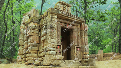 Tanginath Temple in the jungle