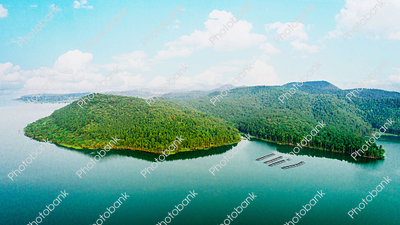 Beautiful View of Chandil Dam