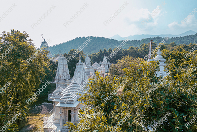 Landscape view of Beautiful Temple