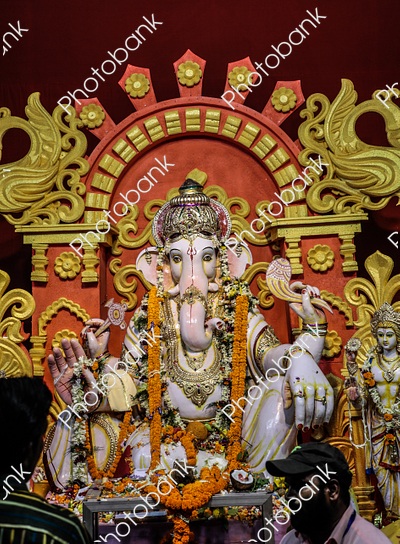 Portrait of Ganesha