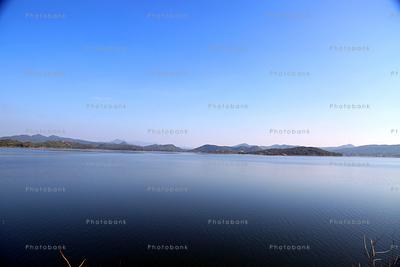 beautiful view of Patratu Dam