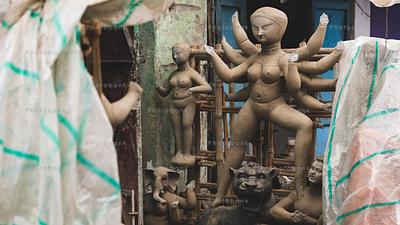 Incomplete Goddess. kolkata, India