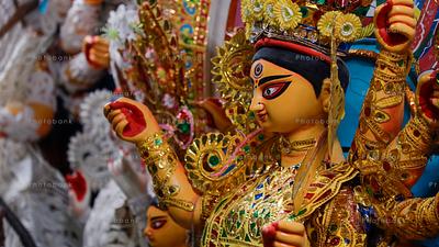 Goddess Durga. kolkata, India