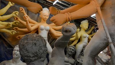Making of Maa Durga