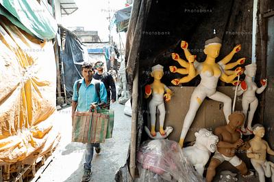 Kumartuli market, Kolkata