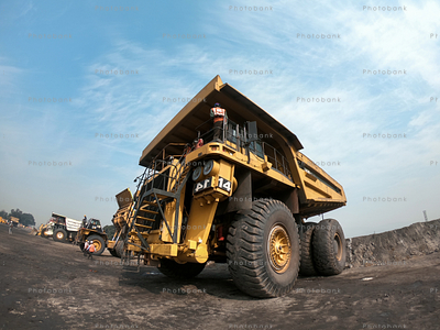 Haul Truck in Pakri Barwadih coal block in Jharkhand