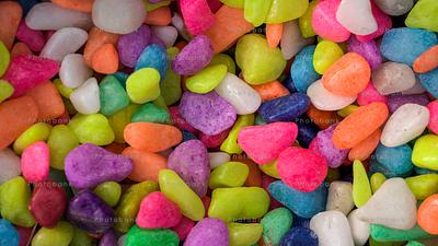 Colorful small stone