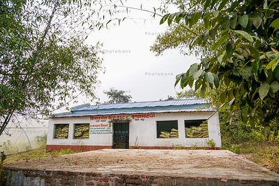 Storage home for crop and fertilizer