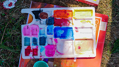 Water color paint