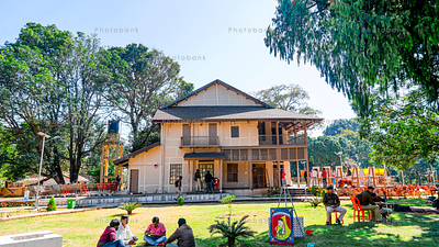 Chalet house of Netarhat