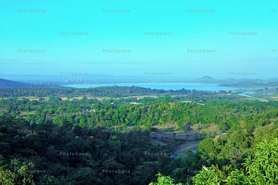 Beautiful view of patratu valley