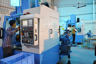 CNC Machine at MSME plant Adityapur