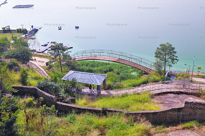Kanke Dam View