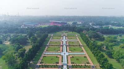 Drone View of Jubilee Park