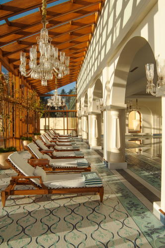 Architectural & hotel photography of Wildflower Hall, Oberoi Hotels and Resorts, Simla, India