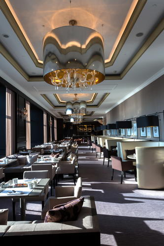 Architectural & Hotel photography of Ritz Carlton, Istanbul, Turkey.