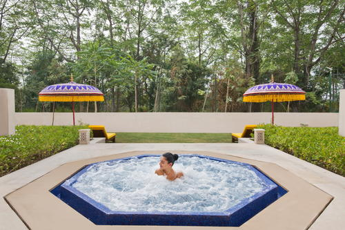 Hotel and Resort photography of Sukhvillas, Oberoi Hotels and Resorts spa, Chandigarh, India