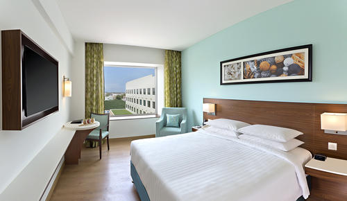 Architectural & Hotel photography of Marriott Fairfield, Coimbatore, India