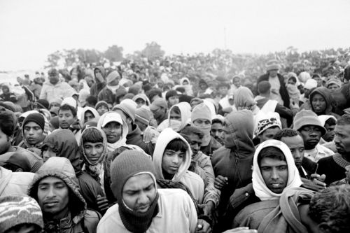 They fled Libya. 2011