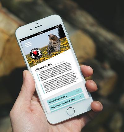 Camano Island Animal Shelter Website Redesign