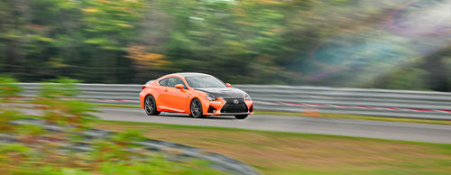 Lexus RC F Action New York