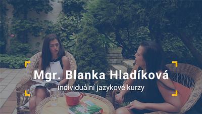 Jazykova lektorka Mgr. Blanka Hladikova