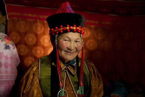 Buryat Woman