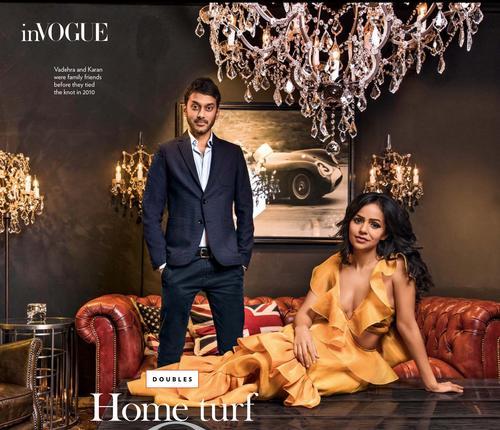 Amit Vadehra, Nainika Karan, Vogue