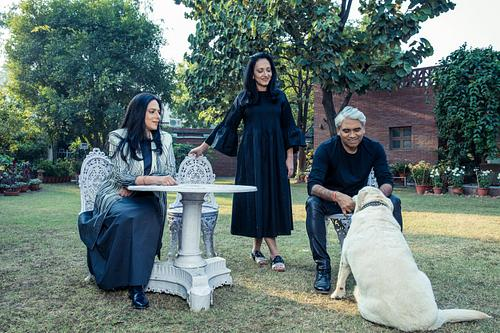 Designer Rajesh Pratap Singh & Family