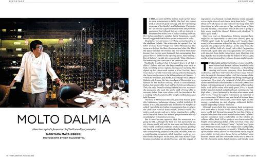 Molto Dalmia : The Diva Ritu Dalmia