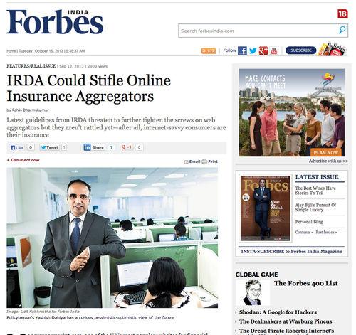Yashish Dahiya | CEO Policybazar.com