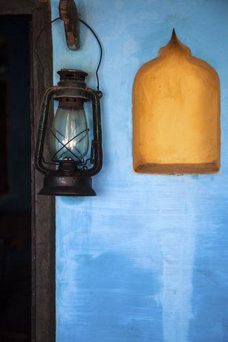 A Lantern & a niche