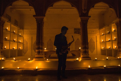 Rhys Sebastian D'Souza, Saxophone musician