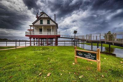 1886 Roanoke River Lighthouse