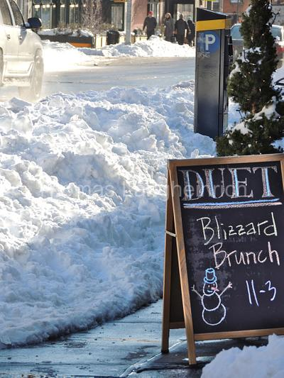 Blizzard Brunch